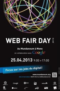 Le Mundaneum & le Data center de Google présentent le 1er Web Fair Day à Mons! | WEBOLUTION! | Scoop.it
