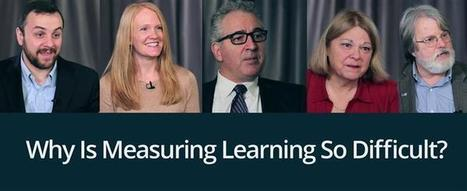 Video: Why Is Measuring Learning So Difficult? | Mundos Virtuales, Educacion Conectada y Aprendizaje de Lenguas | Scoop.it