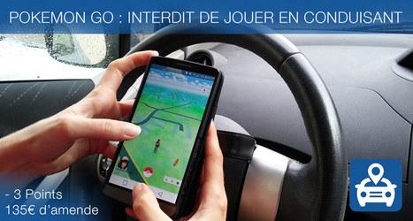 Pokemon GO au volant sur la route : grave danger ! - Blog LegiPermis | Sécurité routière | Scoop.it