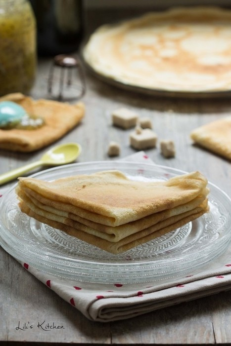 Crêpes sans oeuf ni lait (vegan) - Lili's (vegan) Kitchen   1FORMANET - Mes plaisirs   Scoop.it