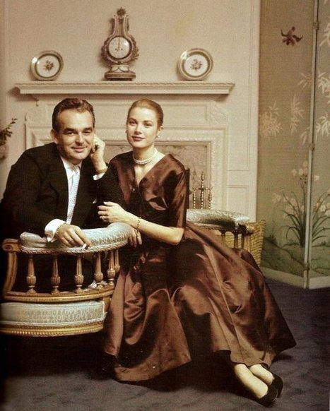 Grace Kelly at Home: Life as a Princess - The Decadence Project   Home Decor   Scoop.it
