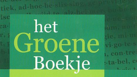 Vernieuwde Groene Boekje wordt op papier dunner - De Morgen   Taalberichten   Scoop.it
