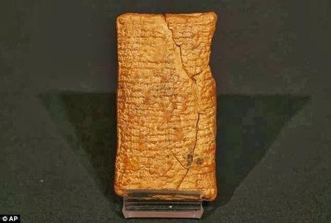 D'après une ancienne tablette d'argile, l'arche Mésopotamienne était un coracle... | Les découvertes archéologiques | Aux origines | Scoop.it
