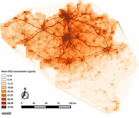 GIS, Pollution, and Health ~ GIS Lounge | Nuevas Geografías | Scoop.it