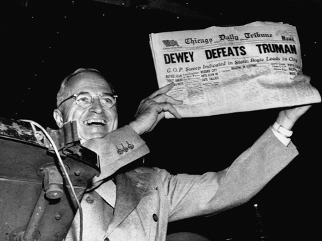 Clinton-Trump Probably Won't Be The Next 'Dewey Defeats Truman' | POL300 Theory, Data and Statistics | Scoop.it