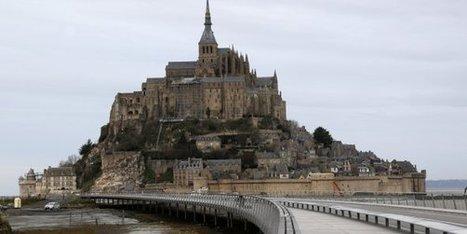 Le Mont-Saint-Michel est quasiment redevenu une île | Géographie : les dernières nouvelles de la toile. | Scoop.it