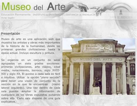 Historia del Arte | Bibliotecas Escolares do S. XXI | Scoop.it