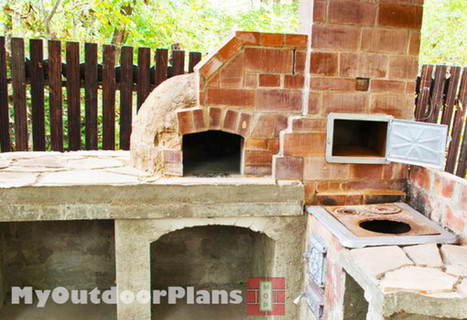 DIY Pizza Oven | Free Outdoor Plans - DIY Shed, Wooden Playhouse, Bbq, Woodworking Projects | Garden Plans | Scoop.it