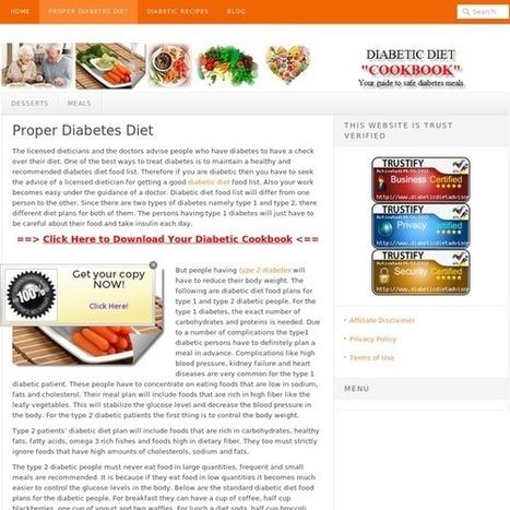 Diabetes Diet | Controlling Diabetes with Diet | Ultimate Diabetes Guide | Scoop.it