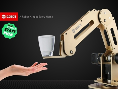 Dobot: Robotic Arm for Everyone, Arduino & Open Source | Digital Design and Manufacturing | Scoop.it