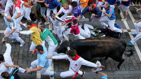 Three hurt, one seriously, in Pamplona bull run | AP HUMAN GEOGRAPHY DIGITAL  STUDY: MIKE BUSARELLO | Scoop.it