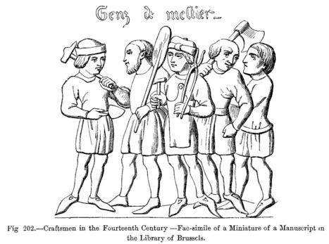 aulabierta: Los Gremios medievales | mis cosas de soci | Scoop.it