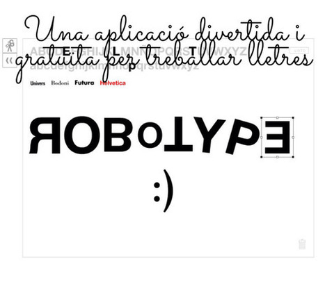 RoboType | mardecoseslogopedia | Scoop.it