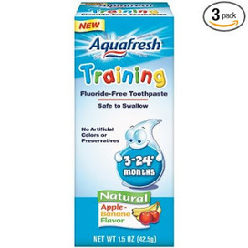 teeth whiteening : teethwhitening products : teeth whitening at home : dental whitener kit gel: Aquafresh Training Toothpaste for 3 - 24 months, Apple-Banana Flavor buy it online for discount sale | teeth whitening | Scoop.it