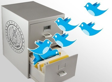 Watch what you Tweet: Library of Congress is done archiving all your tweets & Who else is capturing your tweets to share with the world | I'm for libraries! | Scoop.it