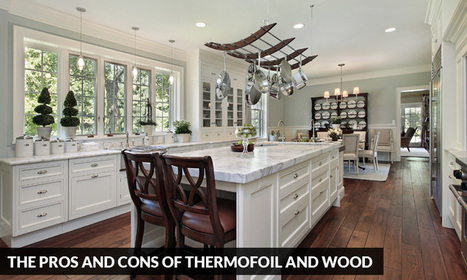 The Pros and Cons of Thermofoil and Wood | Kitchen Solvers Franchise | Home Improvement Franchise | Scoop.it