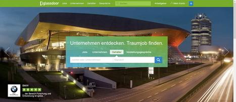 Glassdoor jetzt auch in Deutschland!   MHM HR - Next Recruiting - News   Scoop.it