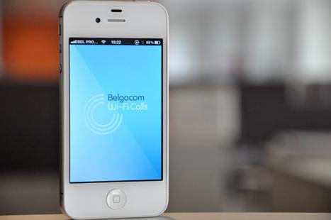 Belgacom teste sa future application «Wi-Fi Calls» | Belgitude | Scoop.it