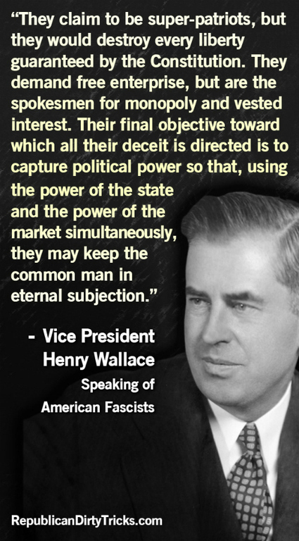 Henry Wallace and The Last Progressive Party | Nomadic Politics | political sceptic | Scoop.it