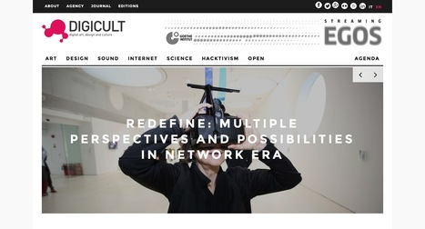 Digicult, new Website 2016 | Digital Art, Design and Culture // #mediaart #soundart #netart #hacktivism... | Digital #MediaArt(s) Numérique(s) | Scoop.it