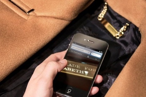 Burberry Embeds Scannable Tags Into Clothes To Make Them Interactive [Video] - PSFK | Ideas & Inspiration | Scoop.it