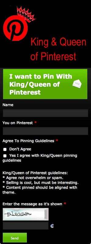 Pin To King & Queen of Pinterest [new form] | Collaborative Revolution | Scoop.it