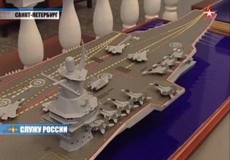 Le centre de recherche Krylov commencerait le développement d'un grand porte-avions pour la Marine russe | Newsletter navale | Scoop.it