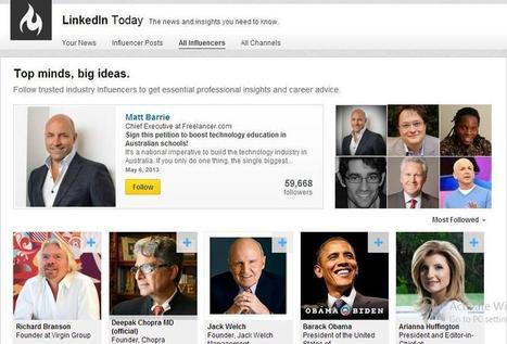 LinkedIn Business Intelligence: 4 Ways to Follow People on LinkedIn. | LinkedIn | Riel Gils | Scoop.it