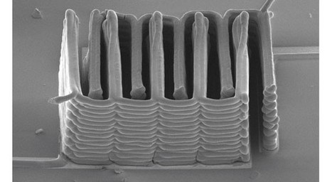 Researchers create micro-battery with 3D printer (video) | 3D Printing and Innovative Technology | Scoop.it