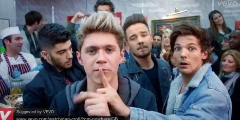 One Direction Release 'Midnight Memories' Music Video (WATCH) - Huffington Post | one direction | Scoop.it
