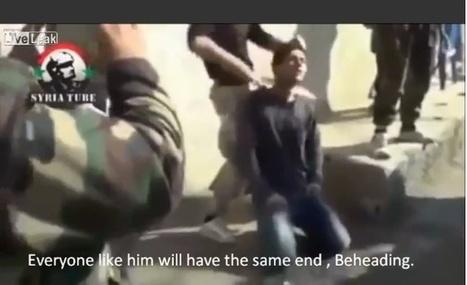 [GRAPHIC] Obama Backed Syrian Muslims Brutally Behead Christian #Syria #FSA #US #EU | Saif al Islam | Scoop.it