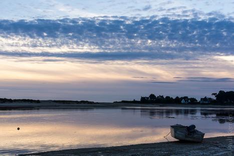 photo en Finistère, Bretagne et...: Rencontre à La Mer Blanche, au crépuscule (9 photos) | photo en Bretagne - Finistère | Scoop.it