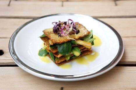 Millefoglie di tempeh con emulsione di mandarini tardivi | Alimentazione e cucina veg, ricette e consigli pratici | Scoop.it