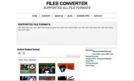 File Converter, una app para Chrome que convierte imágenes y documentos a distintos formatos | Recull diari | Scoop.it