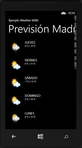 Cómo utilizar el servicio Weather de MSN en Windows Phone | Tecnologías Microsoft | Scoop.it