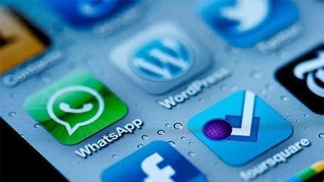 WhatsApp y Facebook, las «apps» más descargadas en español ... - ABC.es   O galego e as TIC   Scoop.it