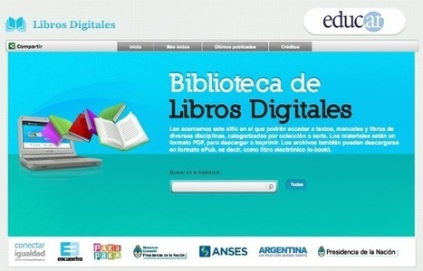 Biblioteca de libros digitales para la comunidad educativa | Aprender y educar | Scoop.it