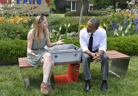 Solar Benches to be Installed in Boston - CleanTechies | Sustainable Futures | Scoop.it
