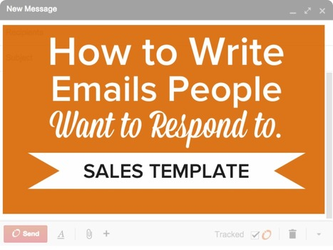 How to Write Emails People Want to Respond To [SlideShare] | HealthCare - Pharmacy | Scoop.it