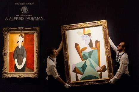 Piezas mediocres y finanzas volátiles arrastran a la baja las ventas de arte   Palimsesto   Scoop.it