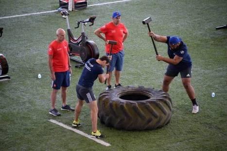 Le crossfit version rugby au programme du XV de France | Entraînement et préparation physique football | Scoop.it