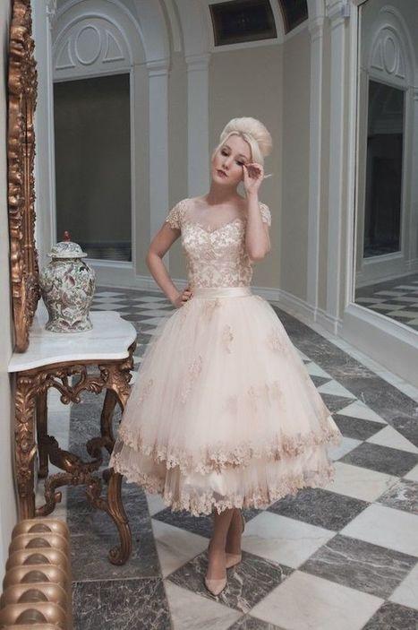 Tea Length Wedding Dresses - Dresseseveryday   gbridal   Scoop.it