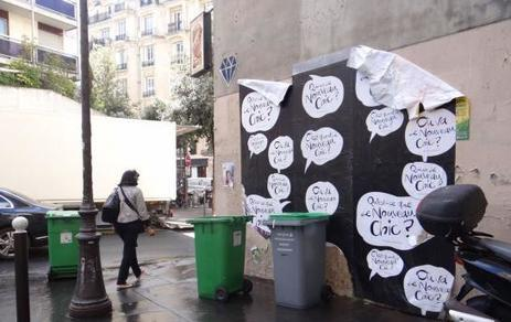 Campagne de pub sauvage : la ville porte plainte contre les Galeries Lafayette | communication & culture | Scoop.it