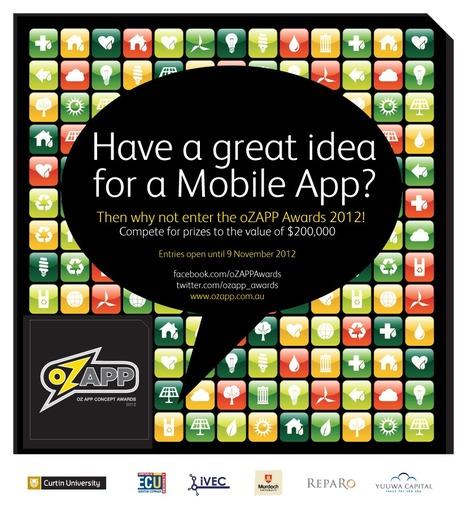 oZAPP Awards - Australian App Concept Awards | Curtin iPad User Group | Scoop.it