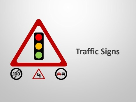 Traffic Signs and Symbols - Editable Slides for Apple Keynote   Apple Keynote Slides For Sale   Scoop.it