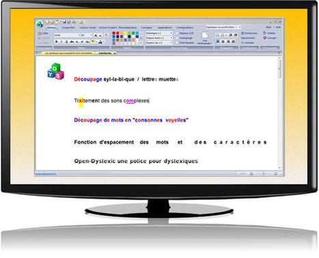 Dys-Vocal,  logiciel pour dyslexie et dyspraxie visuo-spatiale   TICE enseignement de l'anglais et informatique   Scoop.it