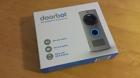 Doorbot : le test d'un interphone vidéo connecté pour moins de 150€ | Domotique Info | Scoop.it