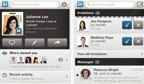 Les 4 dernières applications à découvrir - App Advisor - Artilinki - Appareil photo Facebook - LinkedIn iPad | Web mobile - UI Design - Html5-CSS3 | Scoop.it