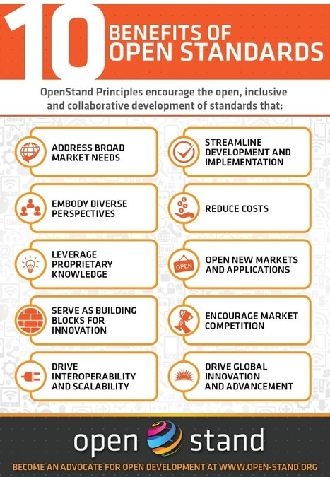10 Benefits of Open Standards (infographic) | Government as a Platform | Scoop.it