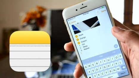 iOS 9: Ce que réserve la nouvelle version de Notes sur iPhone | mlearn | Scoop.it